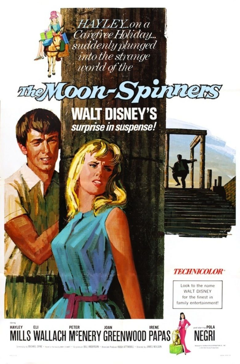 The Moon Spinners movie poster