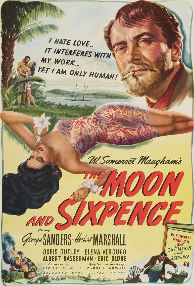 The Moon and Sixpence (film) movie poster