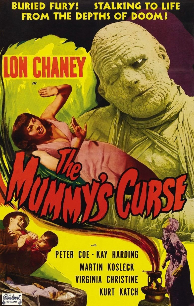 The Mummys Curse movie poster