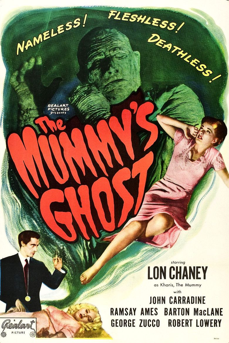 The Mummys Ghost movie poster