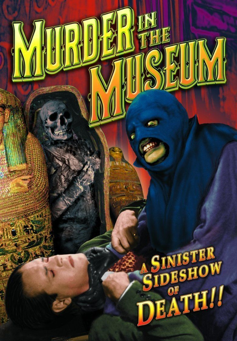 The Murder in the Museum movie poster