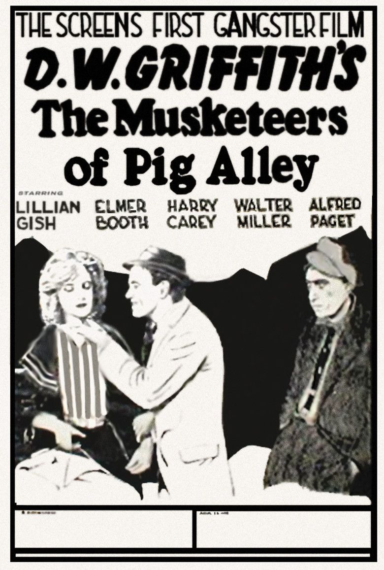 The Musketeers of Pig Alley movie poster