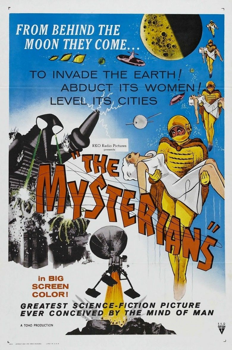 The Mysterians movie poster