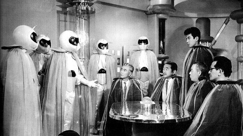 The Mysterians movie scenes