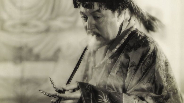 The Mysterious Dr Fu Manchu movie scenes
