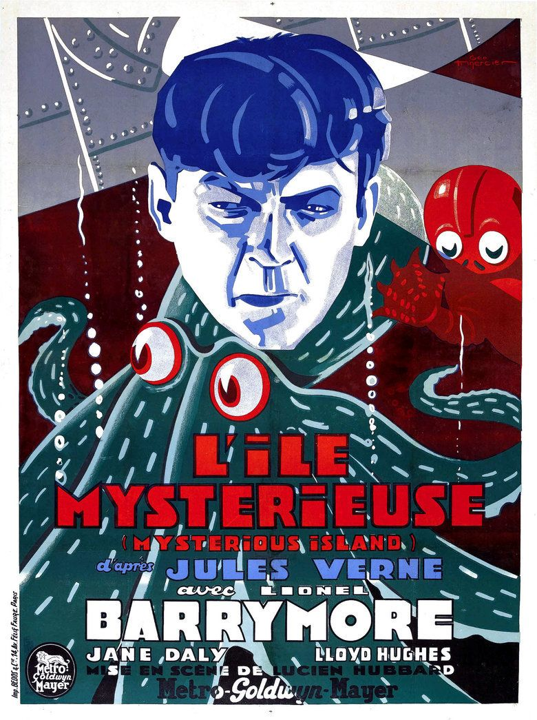 The Mysterious Island (1929 film) movie poster