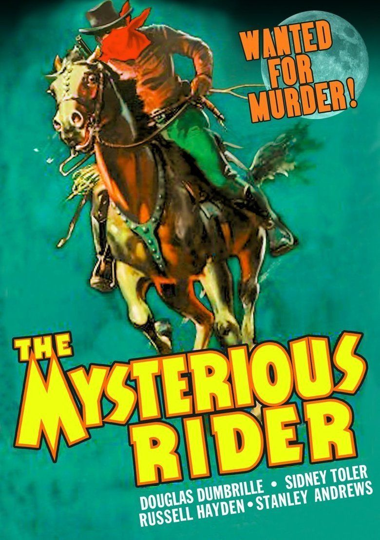 The Mysterious Rider (1938 film) movie poster