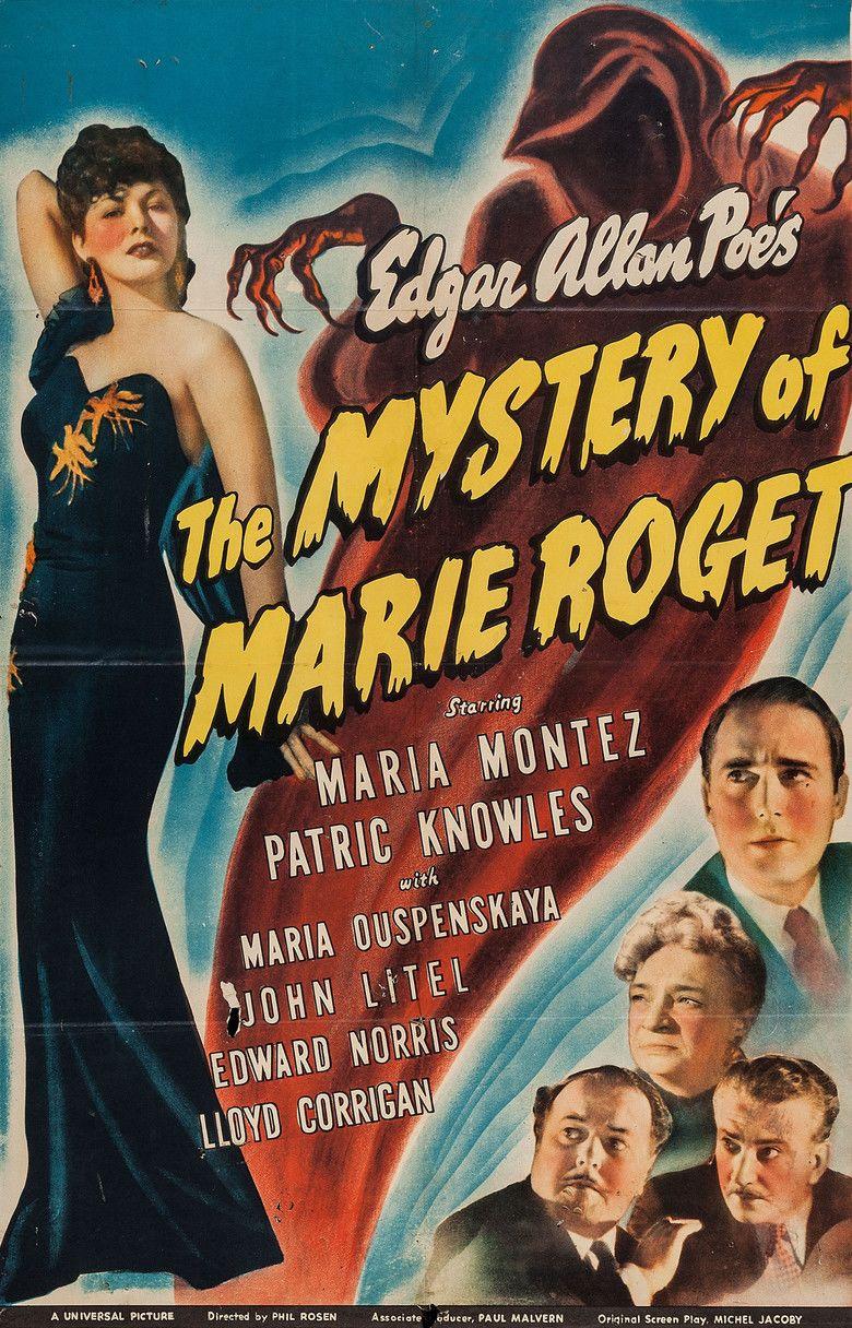 El p��ster de la pel��cula El misterio de Marie Roget (pel��cula)