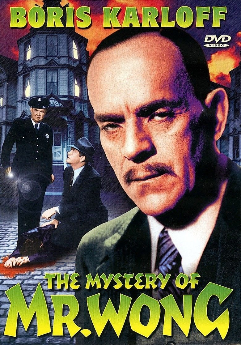 The Mystery of Mr Wong movie poster