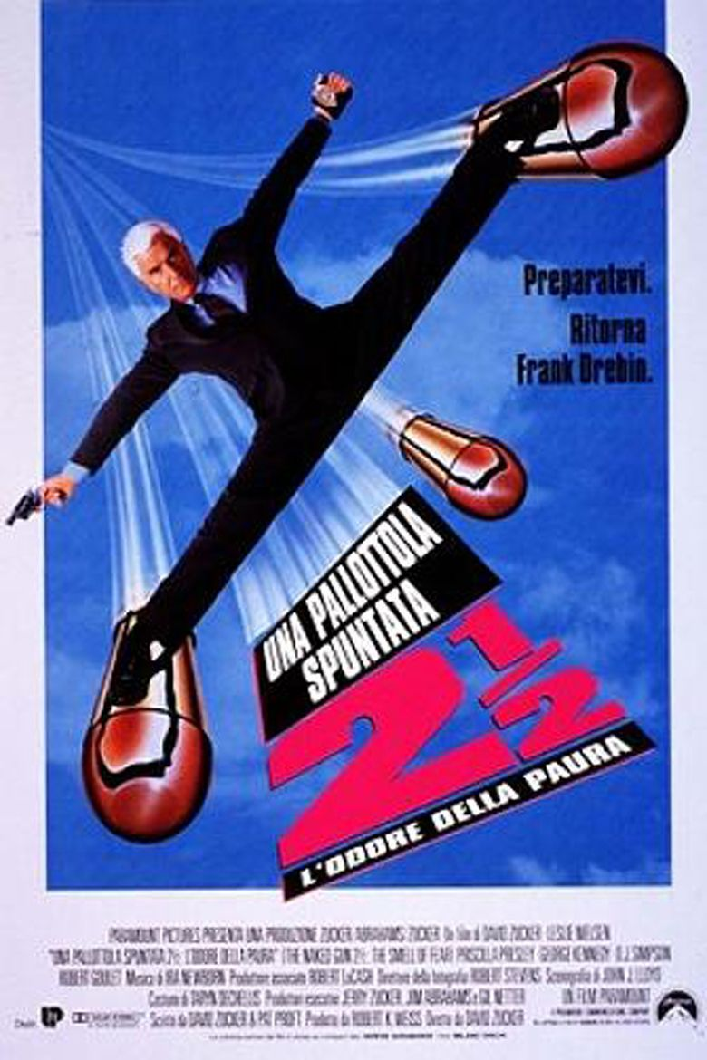 The Naked Gun 2½: The Smell of Fear movie poster