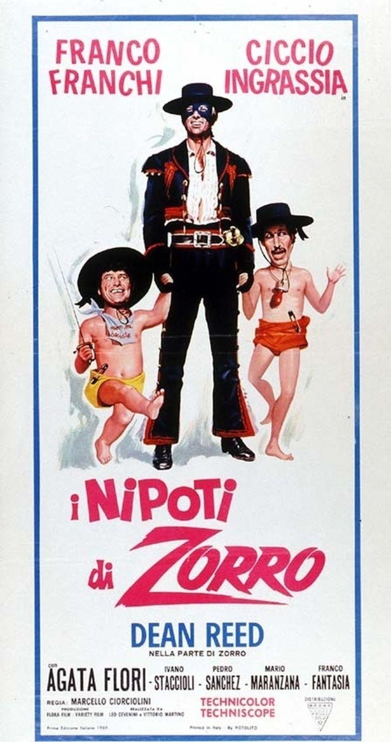 The Nephews of Zorro movie poster