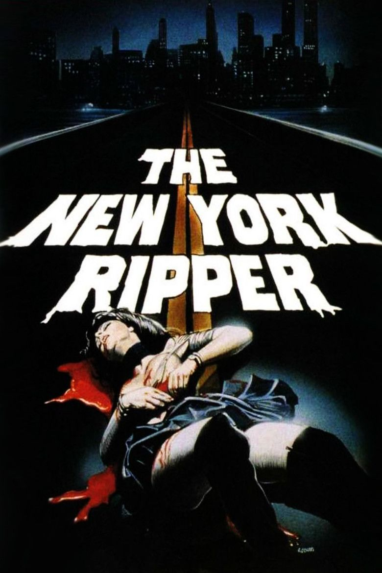 The New York Ripper movie poster