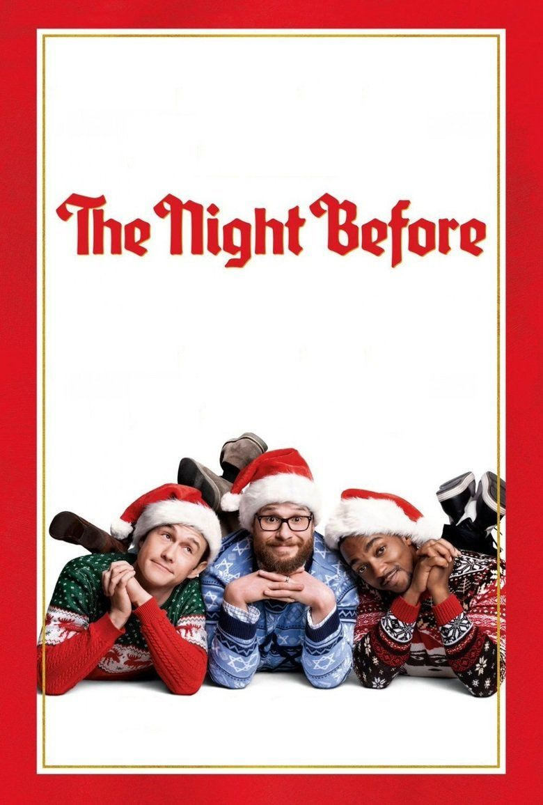 The Night Before (2015 film) movie poster