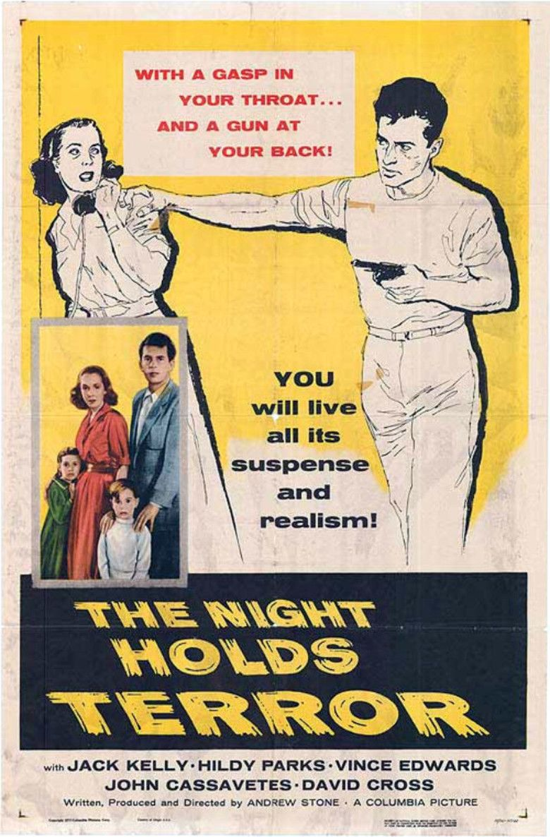 The Night Holds Terror movie poster