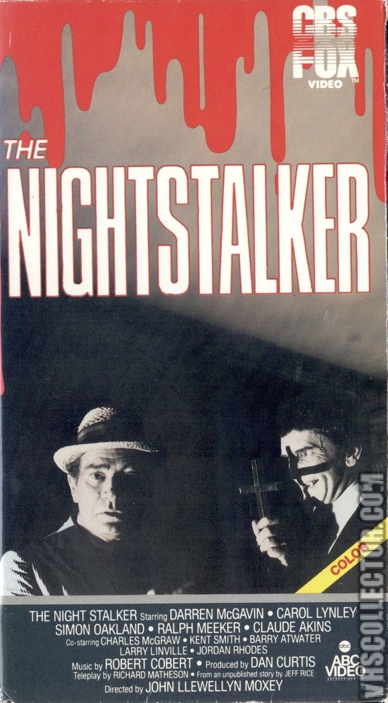 The Night Stalker (film) movie poster