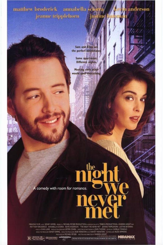 The Night We Never Met movie poster