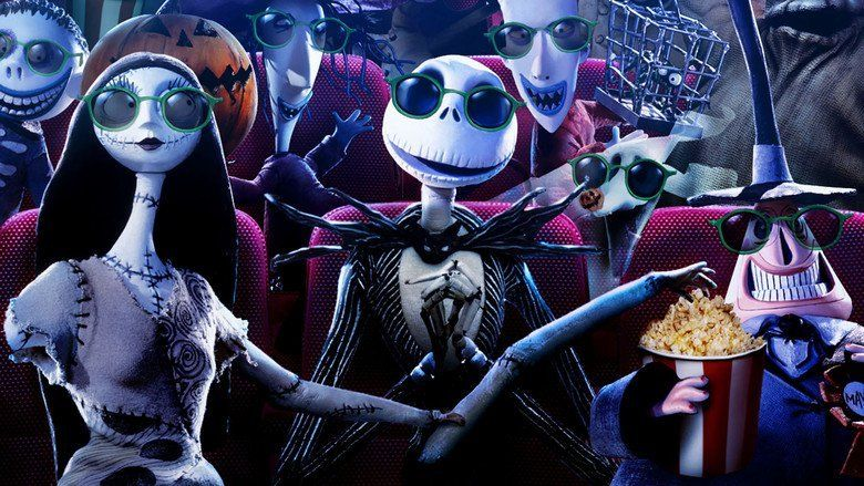 The Nightmare Before Christmas movie scenes
