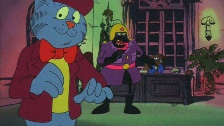 The Nine Lives of Fritz the Cat movie scenes