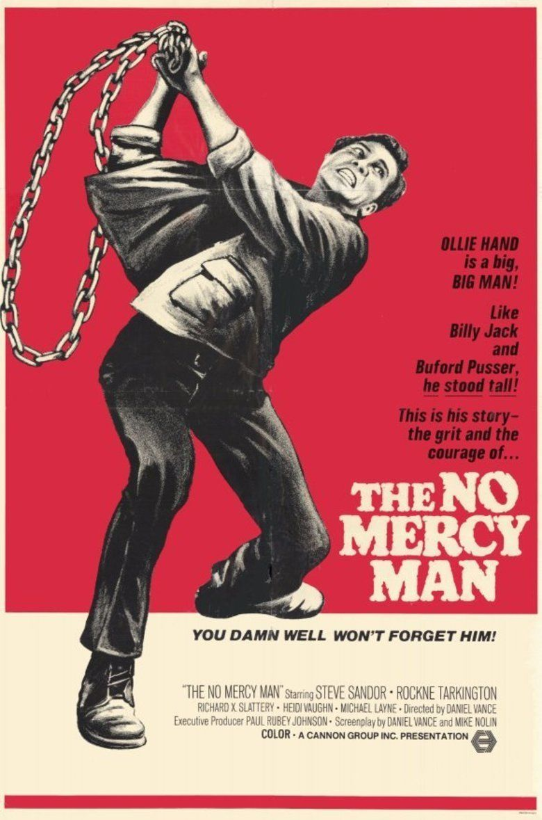 The No Mercy Man movie poster