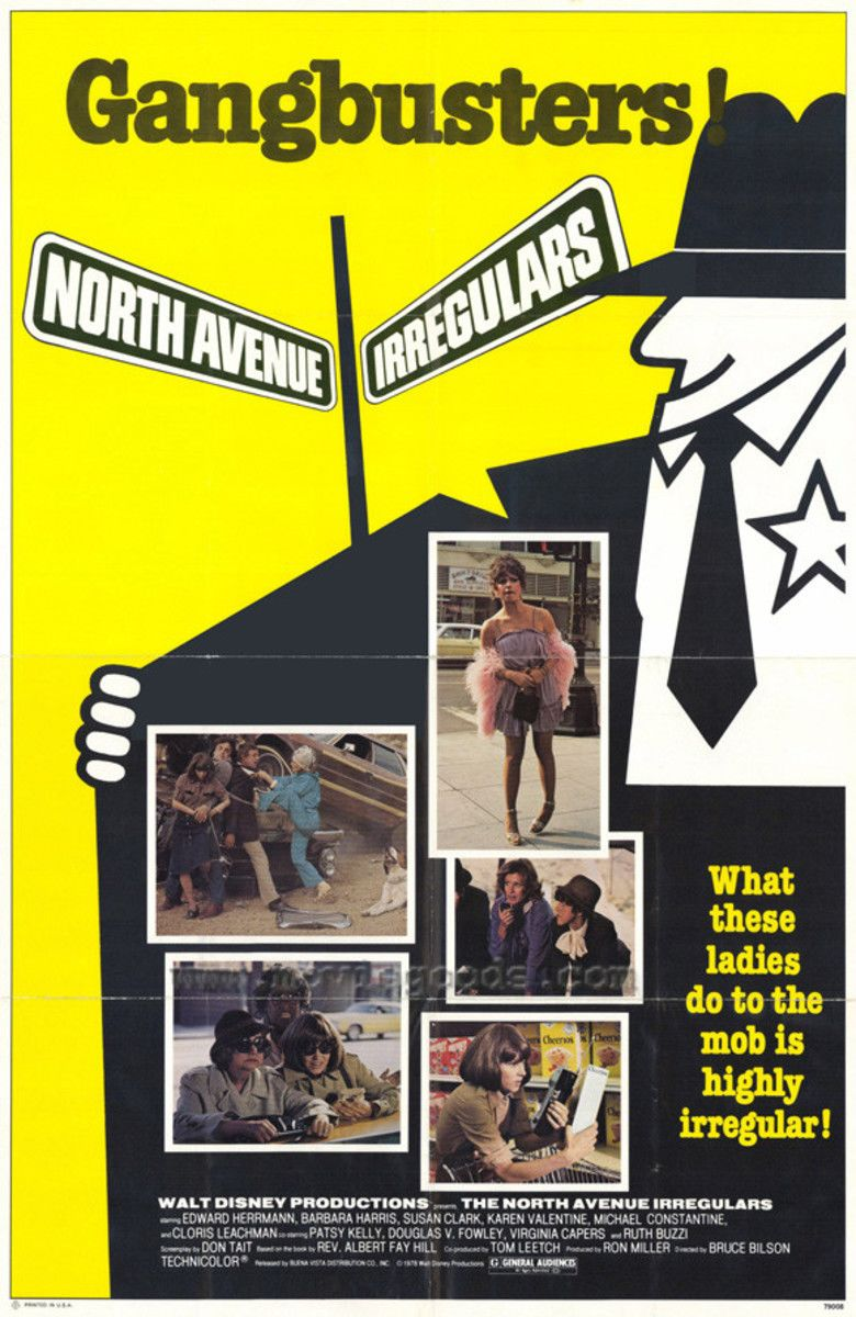 The North Avenue Irregulars movie poster
