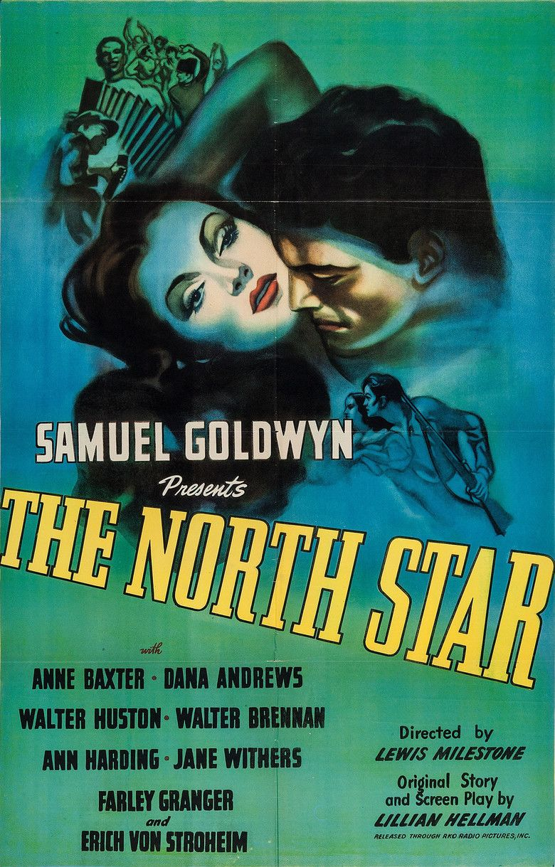 The North Star (1943 film) movie poster