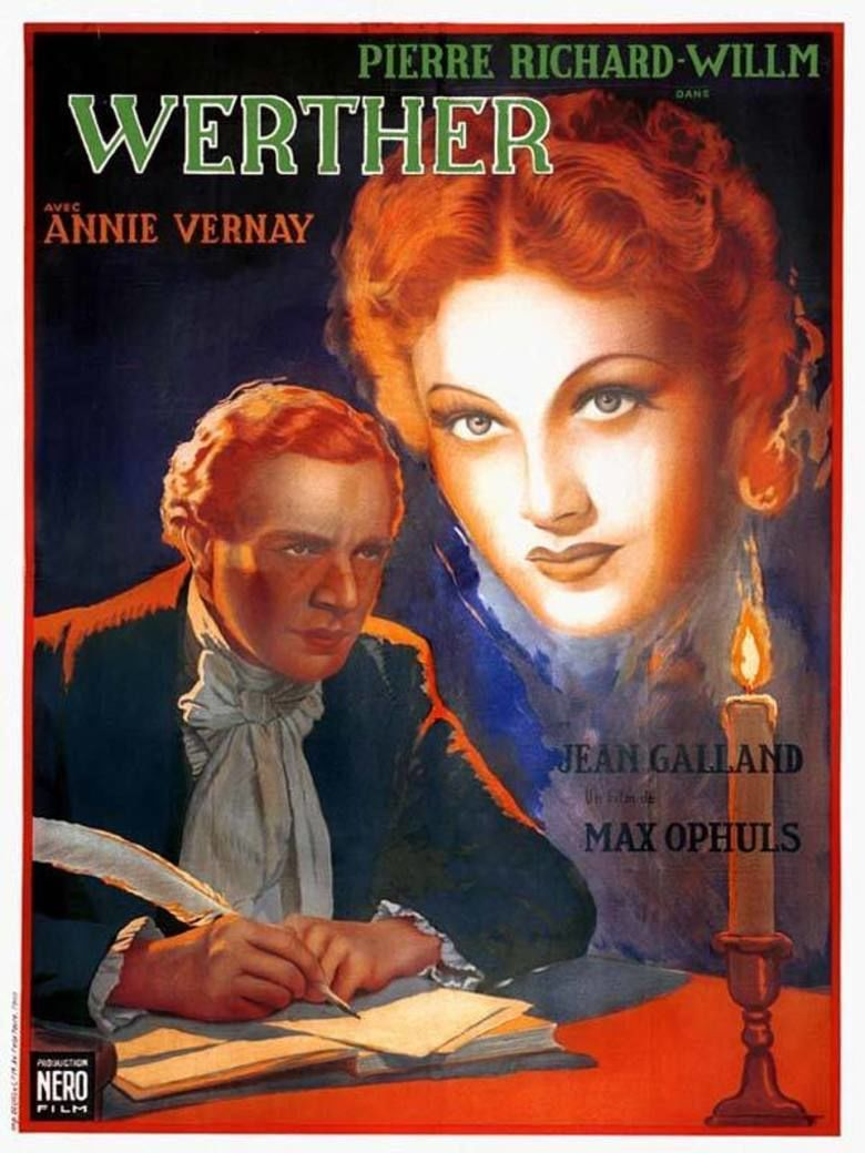 The Novel of Werther movie poster