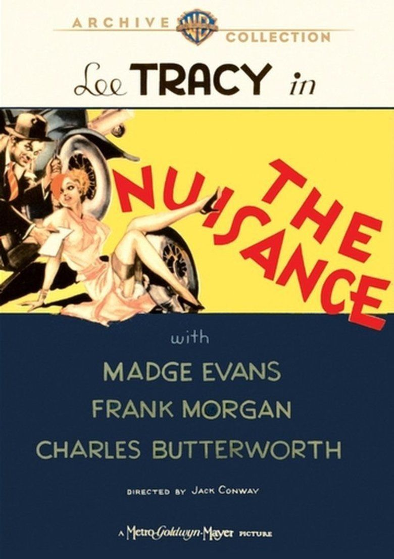 The Nuisance (1933 film) movie poster