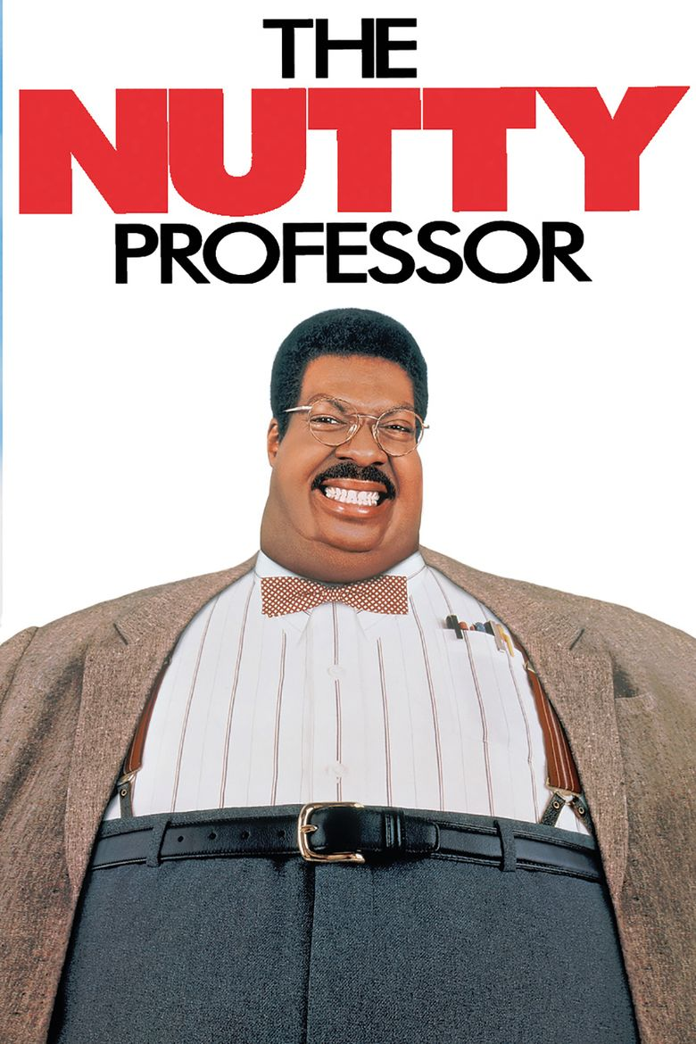 The Nutty Professor (1996 film) movie poster