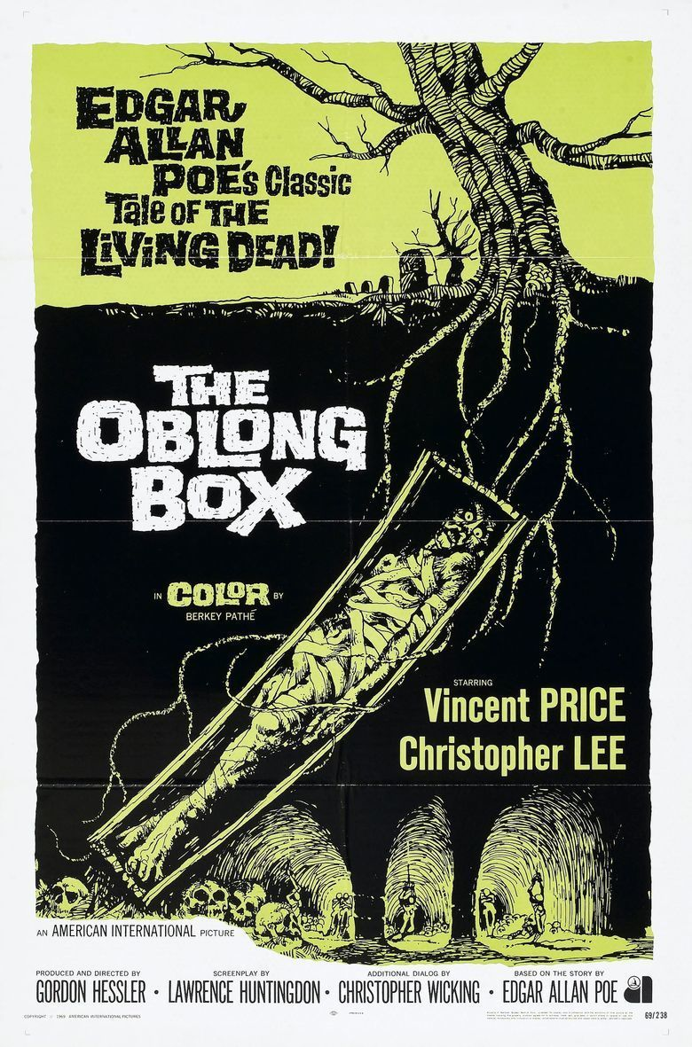 The Oblong Box (film) movie poster