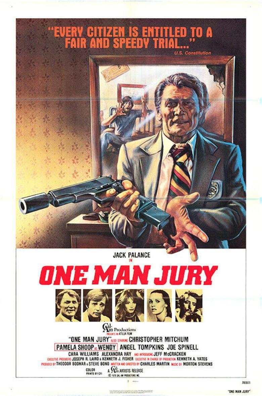 The One Man Jury movie poster