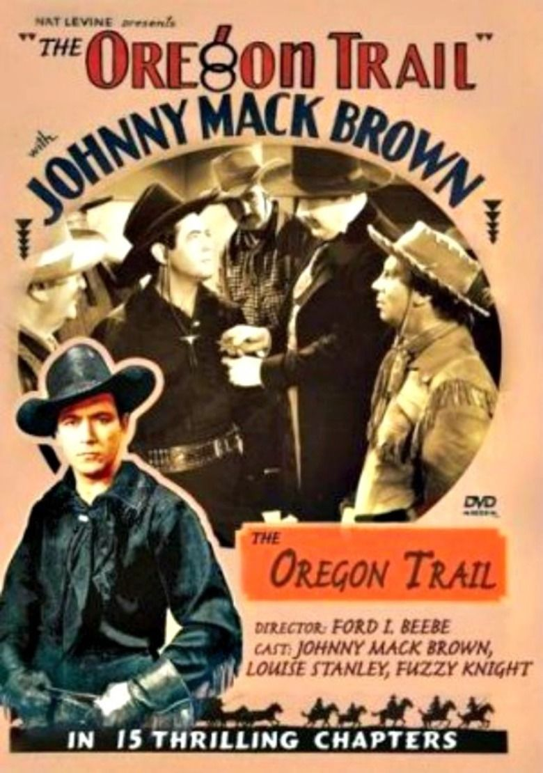 The Oregon Trail (1939 serial) movie poster