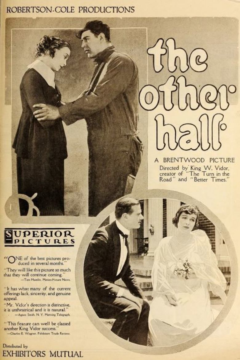 The Other Half (1919 film) movie poster