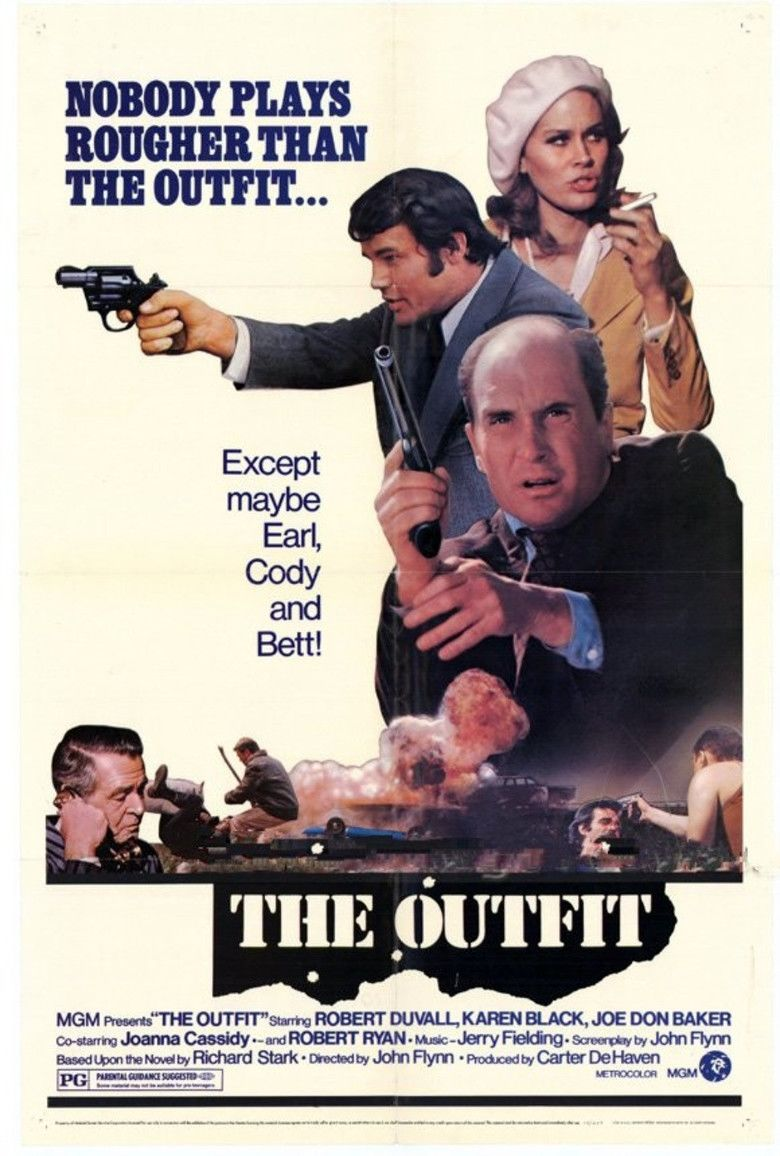 The Outfit (1973 film) movie poster