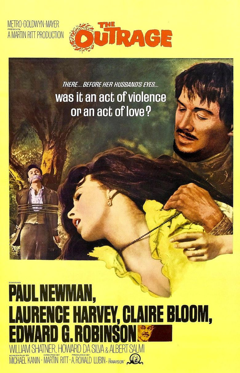 The Outrage (1964 film) movie poster