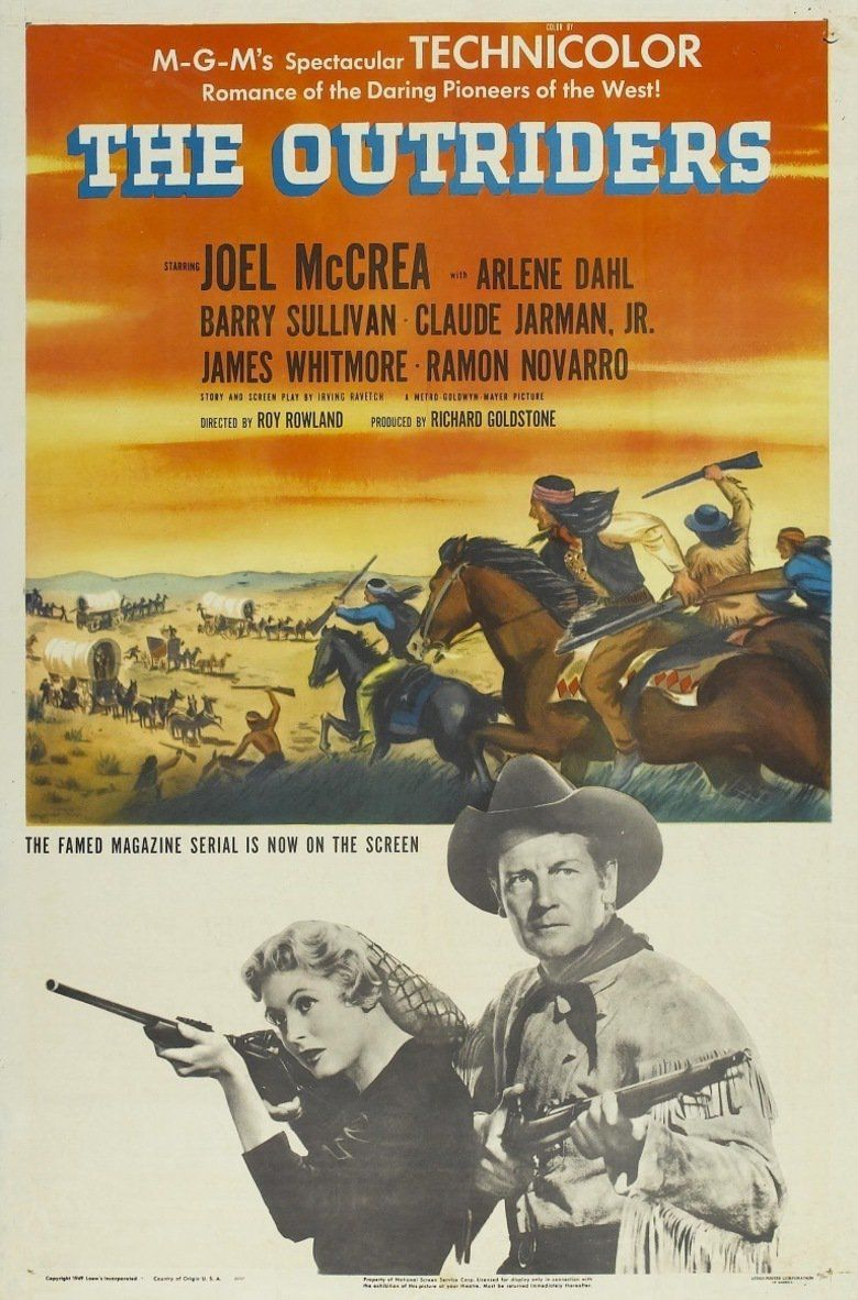 The Outriders movie poster
