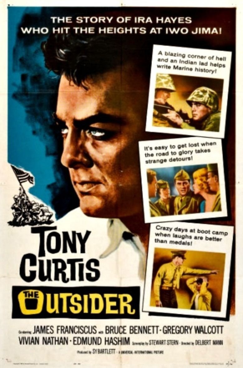 The Outsider (1961 film) movie poster