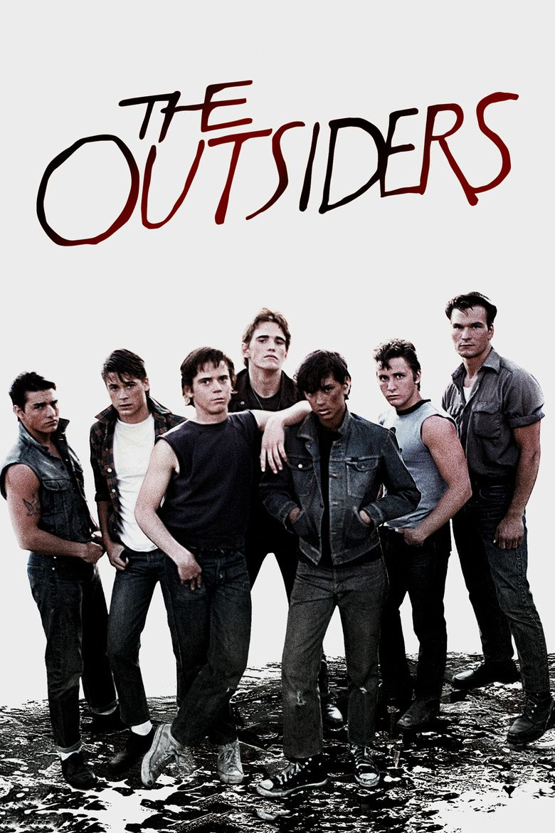 The Outsiders (film) movie poster