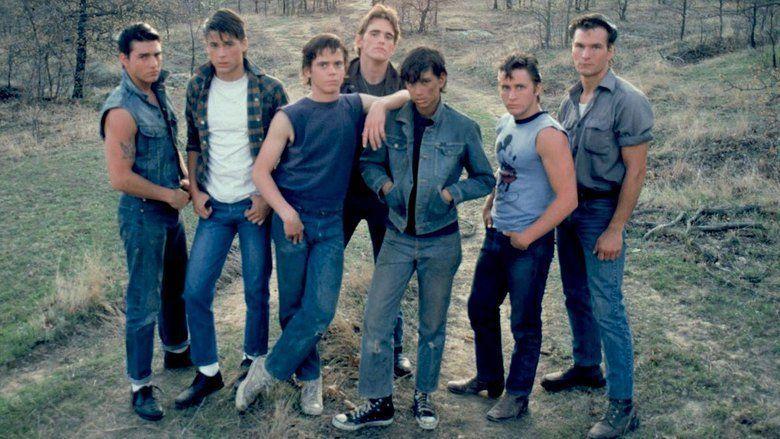 The Outsiders (film) movie scenes