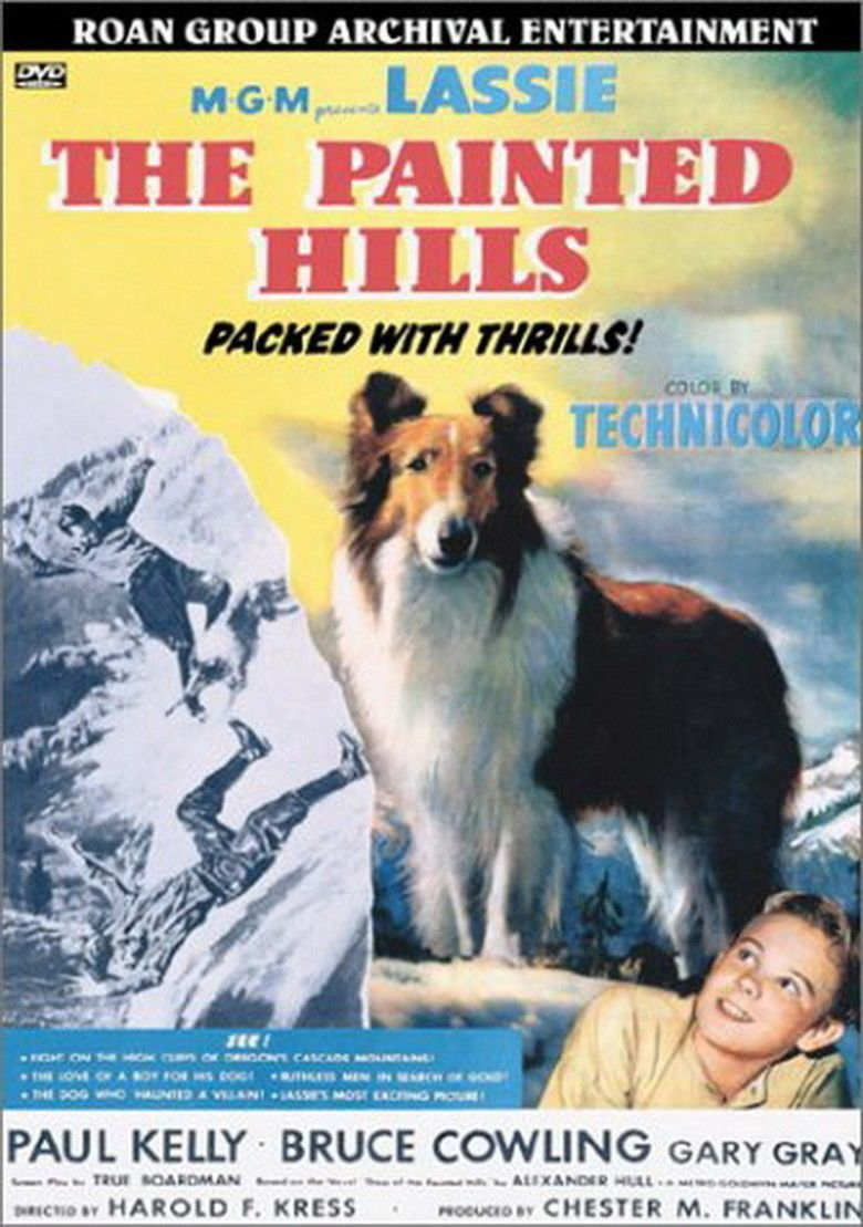 The Painted Hills movie poster
