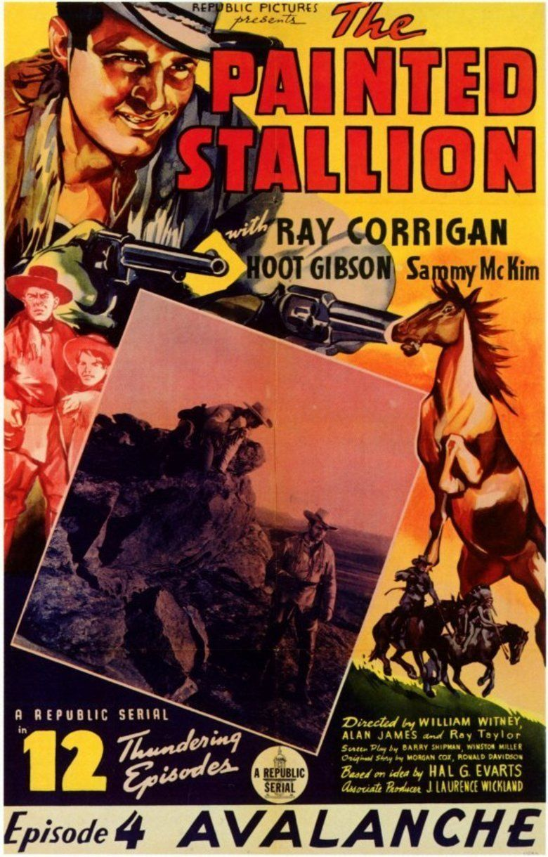The Painted Stallion movie poster