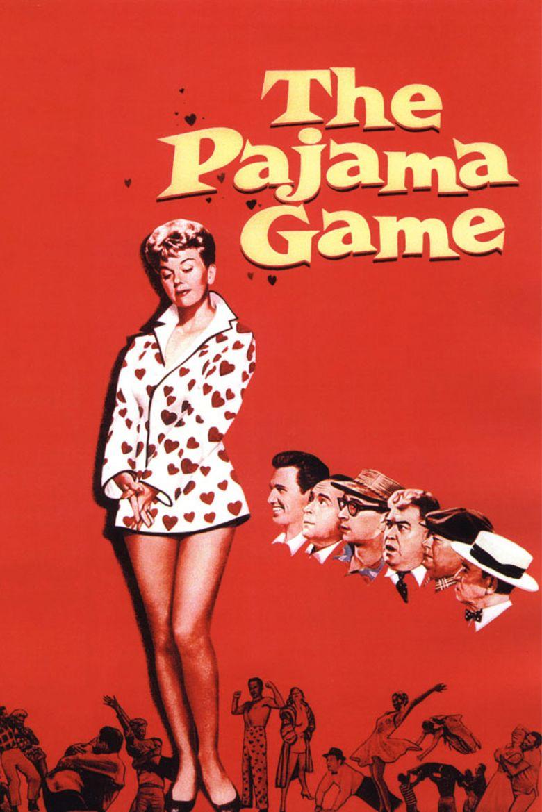 79acf721f8 The Pajama Game (film) movie poster