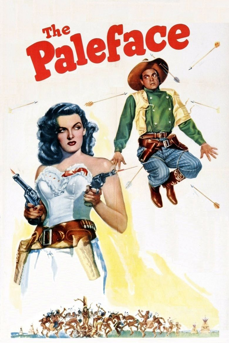 The Paleface (1948 film) movie poster