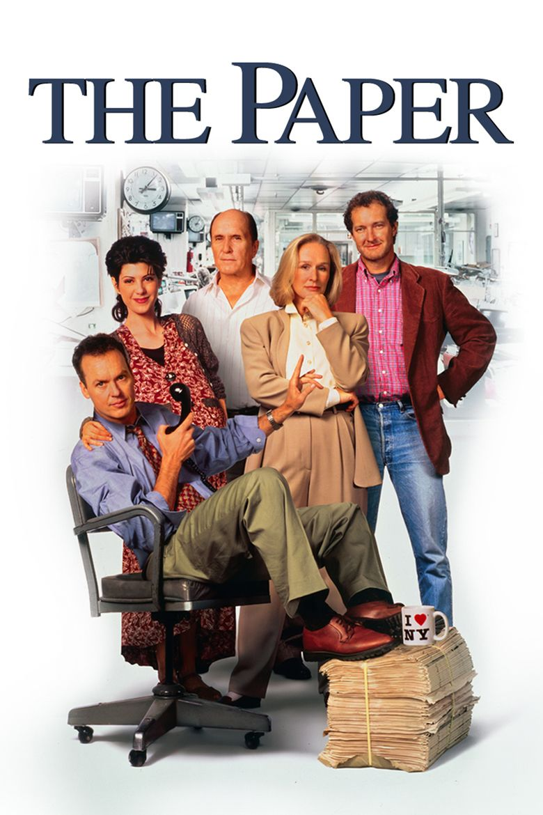 The Paper (film) movie poster