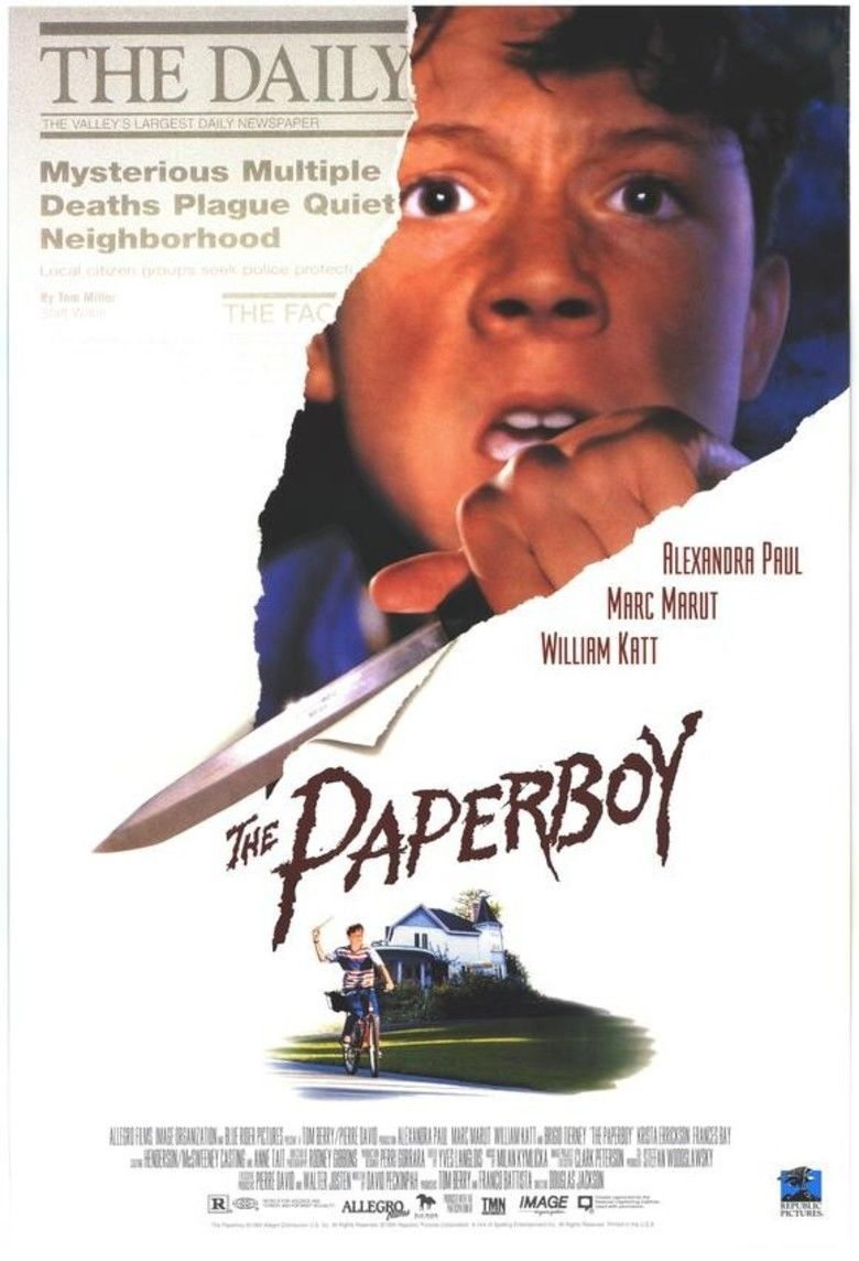 The Paperboy (1994 film) movie poster