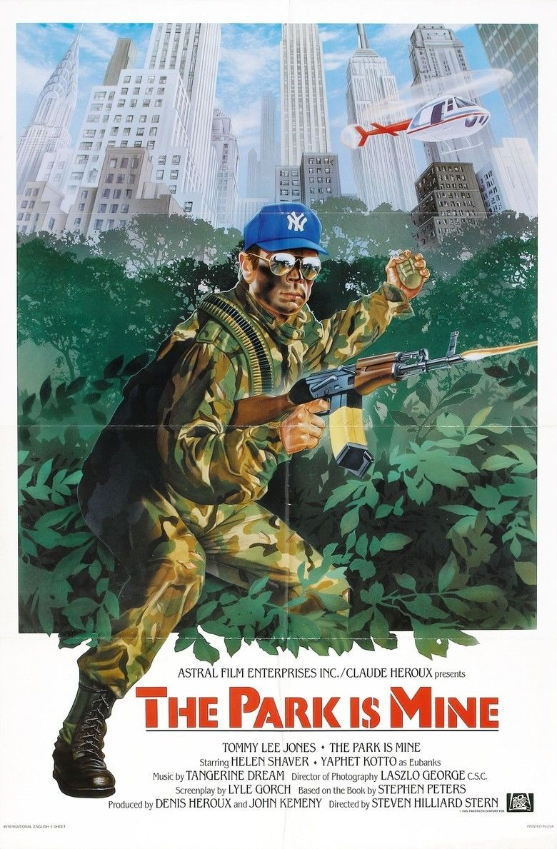 The Park Is Mine (1986 film) movie poster