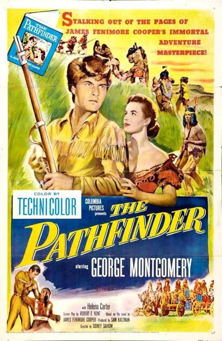The Pathfinder (1952 film) movie poster