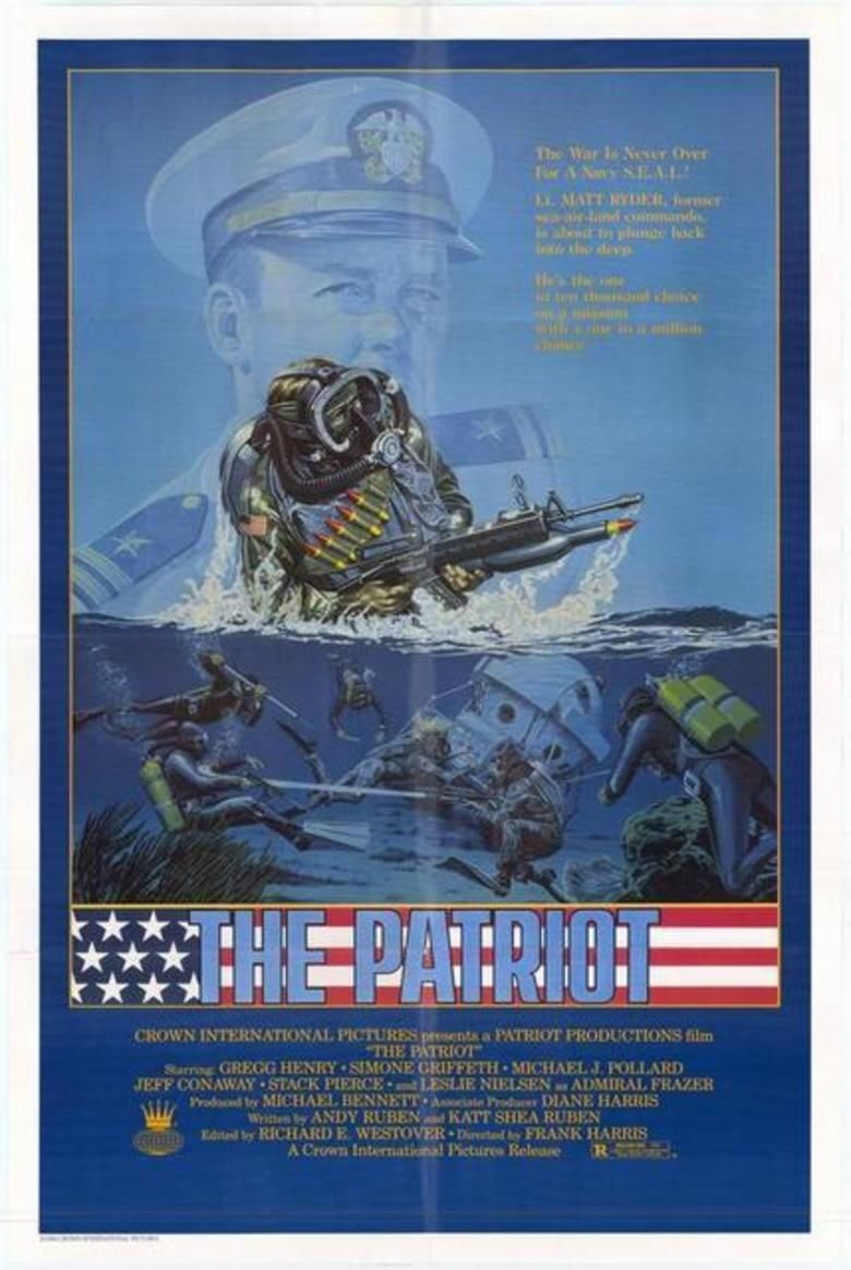 The Patriot (1986 film) movie poster