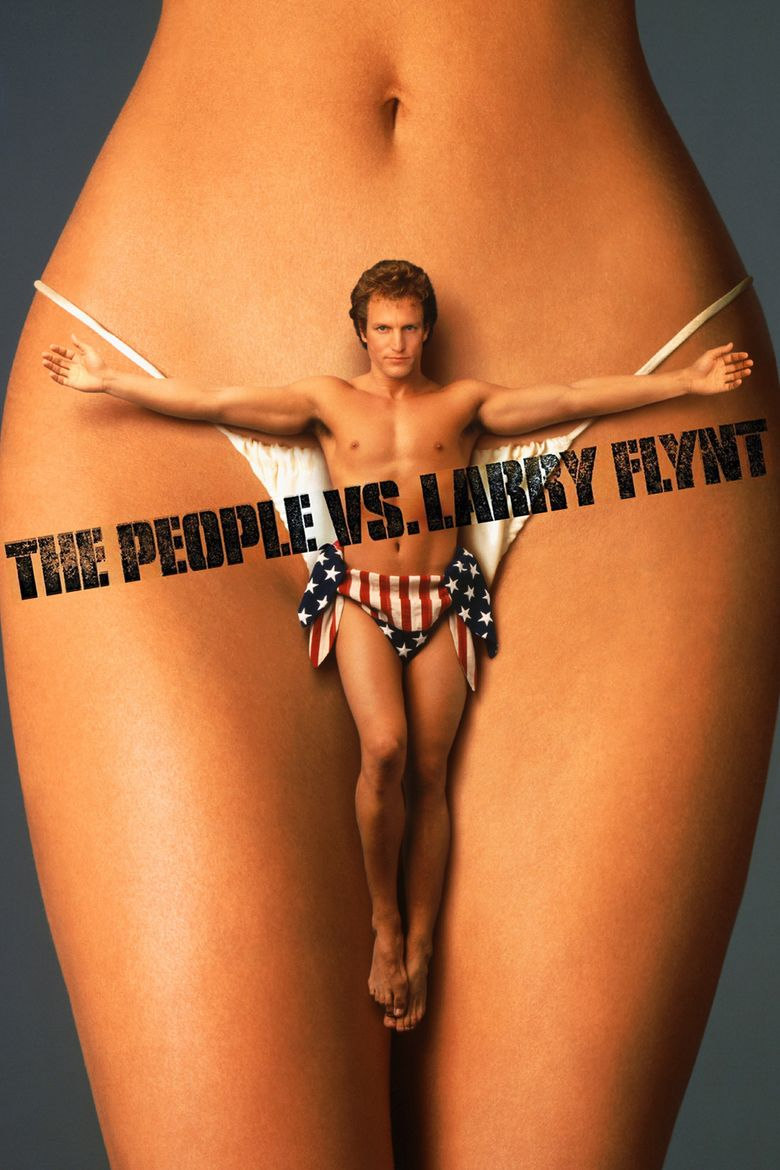 The People vs Larry Flynt movie poster