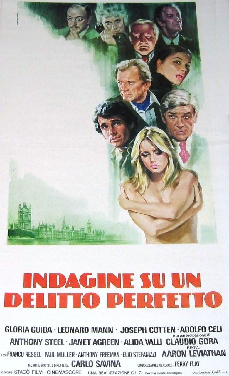 The Perfect Crime (film) movie poster