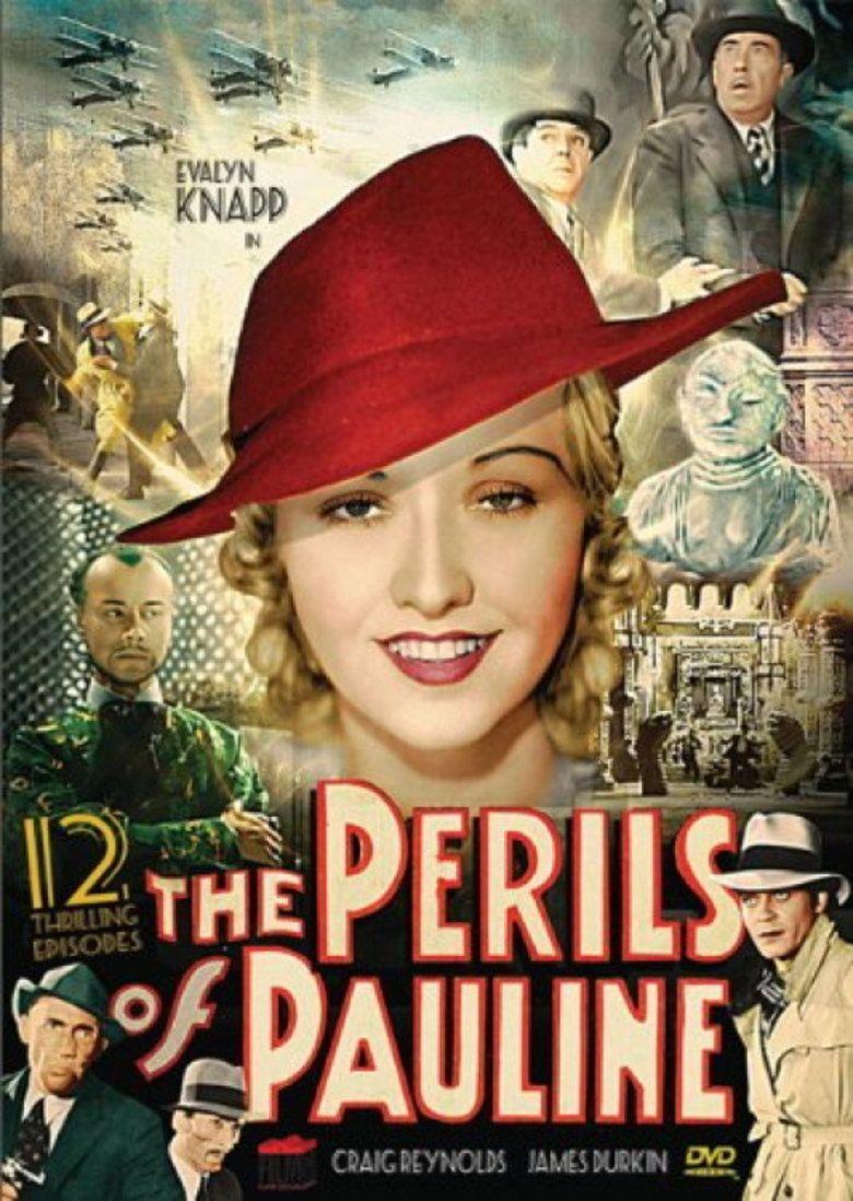 The Perils of Pauline (1933 serial) movie poster